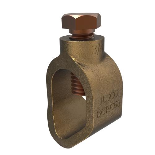 ILSCO BGRC-68 3/4 BRZ GRD ROD CLAMP