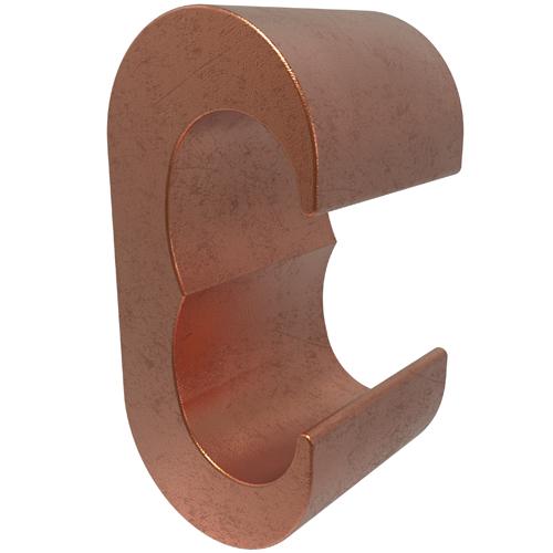 ILSCO ELT-2 CU CMP (R)1-2/0 (T)6-21-2/0 BUL CSA