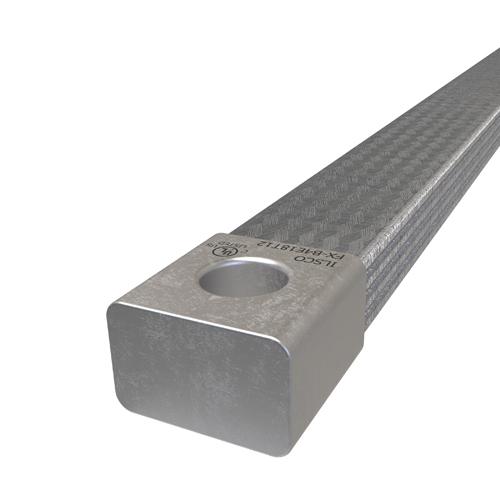 CU FLEX BRAID 850A 18in 1-HOLE1/2in DIA