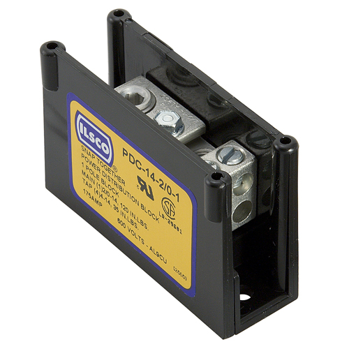 ILSCO PDC-14-2/0-1 PWR DISTR BLOCK